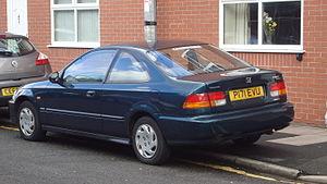 CIVIC VI купе (EJ, EM1)