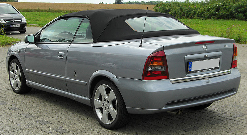 ASTRA G кабрио (F67)