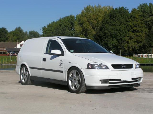 ASTRA G фургон (F70)