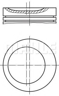 Поршень 84.8mm STD