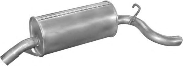 Глушитель выхлопных газов конечный OMEGA A/OMEGA A универсал