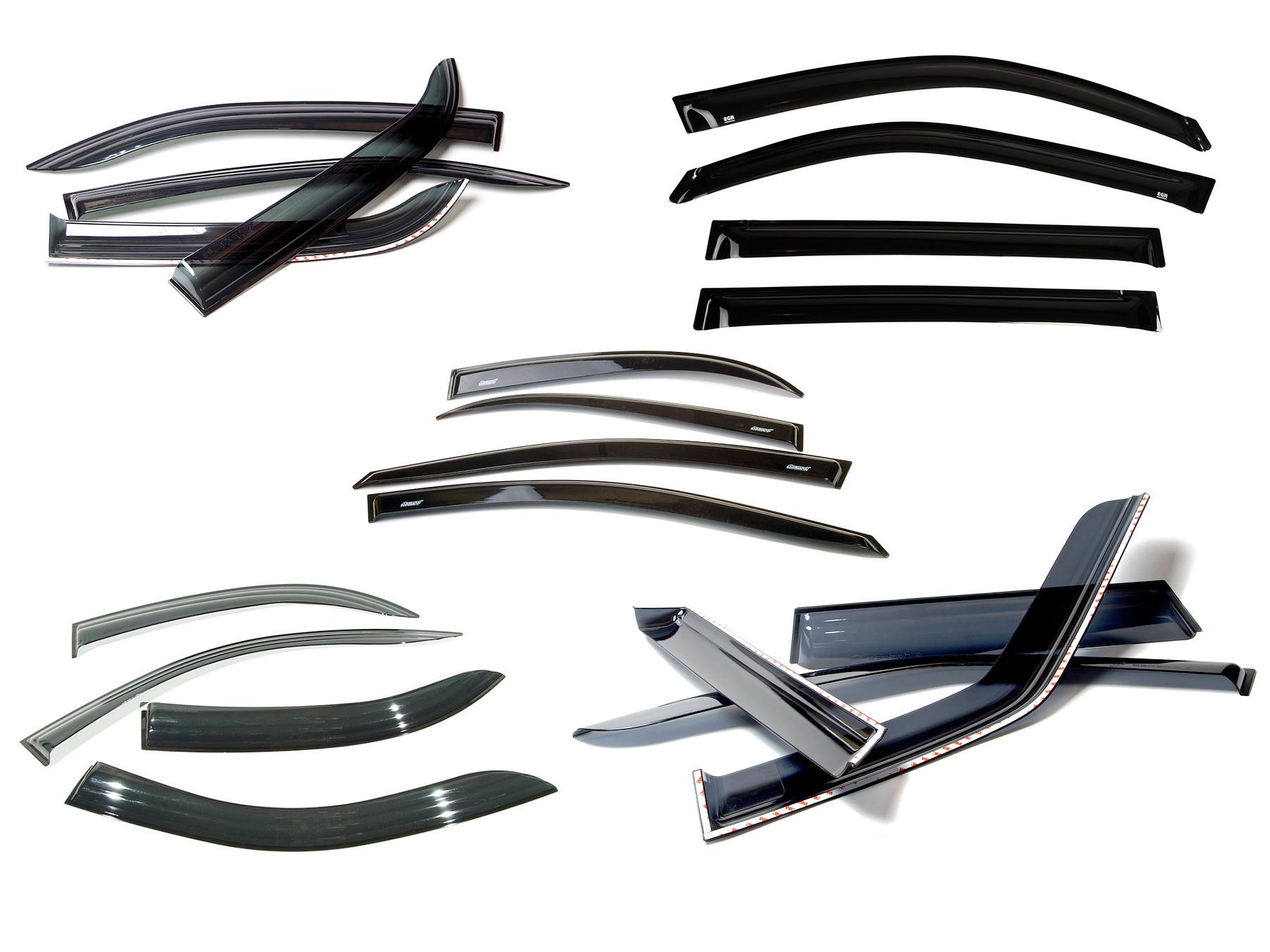 ветровики (дефлекторы) дверей PAJERO/MONTERO III