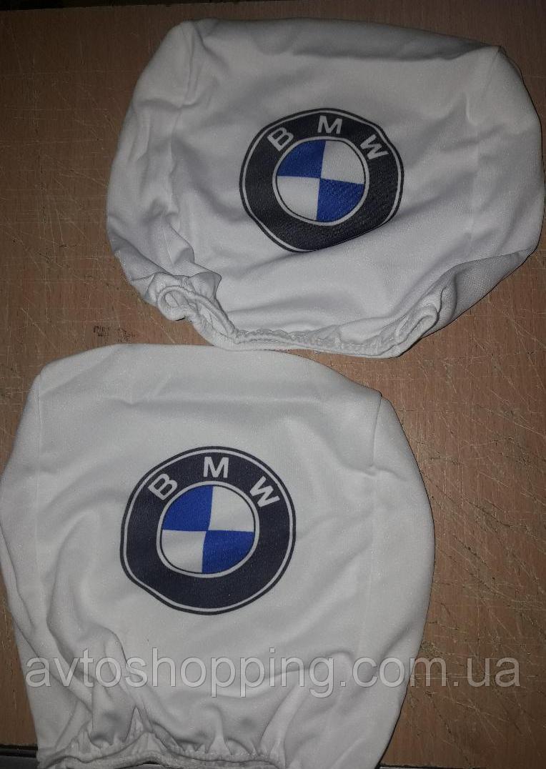 чехол на подголовник BMW (комплект)