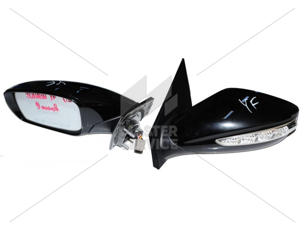 Зеркало боковое Hyundai Sonata  2010-  (к-т)